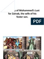 The Story of Mohammed's Lust for Zainab, the wife of his foster son