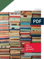 English Brochure 2011