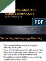 Teaching Language Using Technology