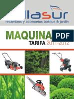 Catálogo de Maquinaria para Bosque y Jardín