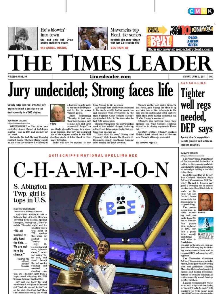 Times Leader 06 03 2011 Mitt Romney United States Government Np Small Tartan Wide Overall 4365