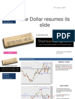The Dollar Resumes Its Slide 2nd June 2011 s&l