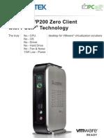 VP200 PCoIP Zero Client Introduction