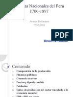 Producto Bruto Interno del Perú 1700-2011