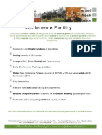 Conference Information and Contract