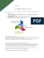 Logistics Manager Suite