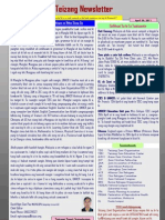 Teizang Newsletter April, 2011