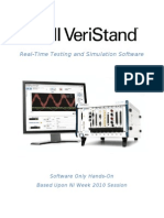 NI VeriStand Software Only HandsOn