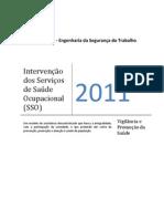 Intervenção dos Serviços de Saúde Ocupacional