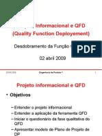 Projeto Do Produto QFD 1