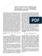 Key Internal and External Factors Influencing Design Team Performance in Green Buildibds