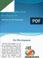 The Power of .Net Technologies