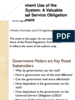 Government Use of the Postal System SLIDES