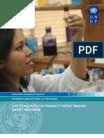 Pharma Response to Product Patent Regime