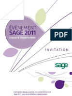 Invitation Sage Evenement 2011