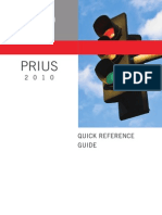 Toyota Prius Quick Refference Guide