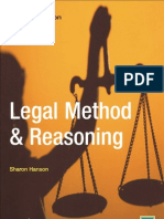 legal method & reasoning