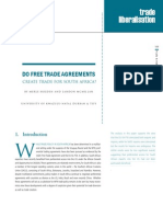 Evaluation of Benefits of Trade Agreements for S.a.