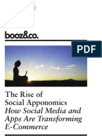 The Rise of Social Apponomics