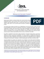 Fundacoes e Associacoes Diferencas[1]