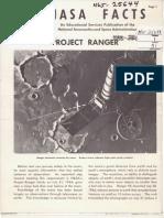 NASA Facts Project Ranger