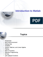 Labs-Presentation 3 - Matlab