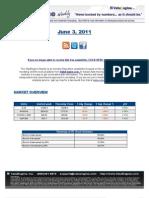 ValuEngine Weekly Newsletter June 3, 2011