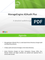 Auditing Active Directory with ADAudit Plus
