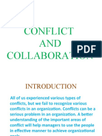 Conflict and Collaboration Ppt Presentation