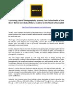 Consuming Desire by Muema Press Release 060311
