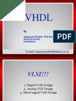 VLSI - VHDL hi Ranjith