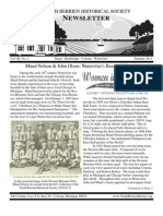 Summer 2011 Newsletter - North Berrien Historical Society