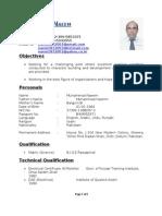 CV Muhammad Naeem