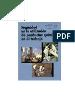 Seguridad en La Utilizacion de Productos Quimicos en El Trabajo