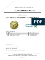MIS - Standard Chartered Bank Pakistan