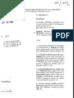 Droit d'auteur des journalistes-Central Station, arrêt de la Cour d'Appel du 28 octobre 1997