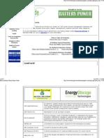 Battery Industry Online Buyers Guide