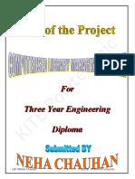 Documentation (Project Neha)