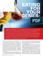 """EATING FOR YOUR GENES"" - The Emerging World of Nutrigenomics"