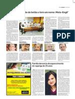 Diário As Beiras - Debate entre candidatos a deputado - 01 junho 2011