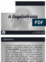Esquizofrenia - Seminário Integrador Uniderp