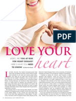 """LADIES - LOVE YOUR HEART"" - Are you at risk for heart disease?"