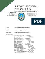 Determinacion de Mesofilos-grupo Del Jueves-callao1