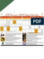 EIFSummer Cultural Calendar