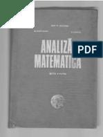 Analiza a - Editia a IVa M Nicolescu S Marcus N Dinculeanu
