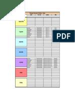 Planeador Semanal de Tarefas21 - 27 Fevereiro