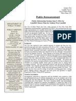 Gedney Information Session Fact Sheet