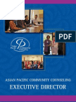 EXECUTIVE DIRECTOR Asian Pacific Community Counseling, Sacramento, CA