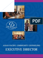 EXECUTIVE DIRECTOR Asian Pacific Community Counseling, Sacramento, CA