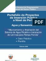 AGUA Y SANEAMIENTO- CASO PRACTICO Y PLANTILLA